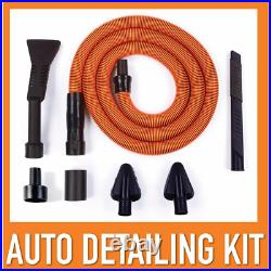 Shop Vacs Wet Dry Vacuum Fine Dust Filter Hose Car Cleaning Kit Accessories NEW