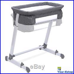 Side Sleeper Bassinet Bedside Arms Reach Adjustable Co-Sleeper For Baby Girl Boy