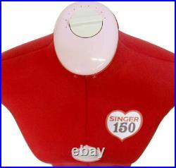Singer Adjustable Dress Form Sized Small/Medium Fits Sizes 4-10