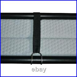 Single Portable Folding Bed With Memory Foam Mattress Cot Sleeper Roll Away Guest