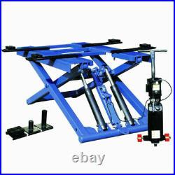 Small portable scissor car lift for home garage load 2700kgs model SP606