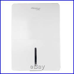 SoleusAir Energy Star 115V 45 Pint Portable Adjustable Home Dehumidifier, White