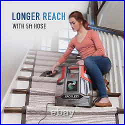 Spotless Clean Portable Carpet & Upholstery Spot Cleaner, Red