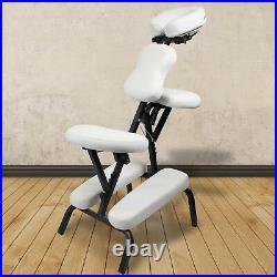 Tattoo Chair Massage Stool Portable Reiki Adjustable Folding Beauty Salon Facial