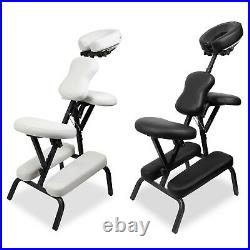 Tattoo Massage Chair Adjustable Portable Folding Body Beauty Salon Therapy Stool