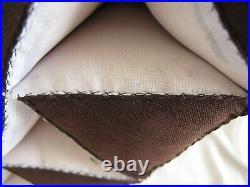 Thai Triangle Pillow Reading Floor Mattress Bed Kapok Tri-fold Daybed Knee Rest