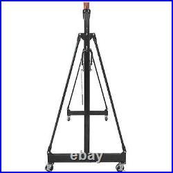 Titan Attachments 2 Ton Adjustable Steel Gantry Crane, Portable Shop Lift Hoist