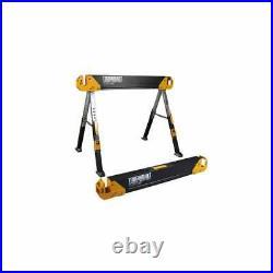 ToughBuilt TOU-C650 C650 Adjustable Leg Folding Saw Horse Trestle Twin Pack