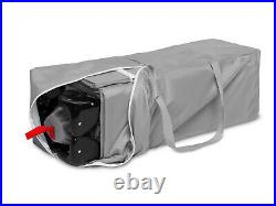 Travel Cot Esti Sleeping Crib Adjustable Baby Next To Me Bed Foldable Grey