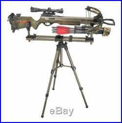 Tripod Shooting Stick Hunting Rest Crossbow Rifle Field Pod Portable Adjustable