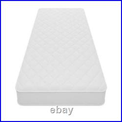 Twin Size 6 Firm Inner Spring Mattress Quilted Cover Coil Spring Comfort Bed