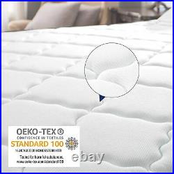 Twin Size Mattress 10 Inch Luxury Adult Bedroom Coil Spring Back Pain Relief Bed