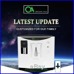 US 1-6L/min O2 Generator O2 Concentrator 30%90% ADJUSTABLE Home Air Purifier
