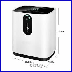 US Portable 0-xygen Concentrator 1-7L/min Adjustable 0-xy Machine for Home 110V