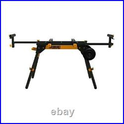 Universal Miter Chop Saw Stand 77 In. Adjustable Support Rolling Wheels NEW