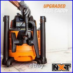 Vacuum Wet Dry Shop Vac Portable 14 Gallon 6.0-Peak HP NXT with Auto Detail Kit