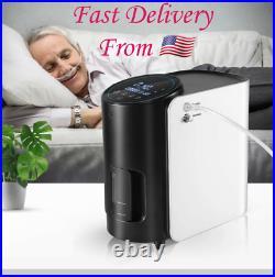 Warranty + Portable Oxygen-O2 Output Machine 1-7L/Min Adjustable 93 ± 3% Purity