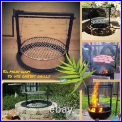 Weber Grill accessories adjustable grate (Santa Maria style BBQ) 22.5 kettle