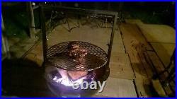 Weber barbecue 26 inch Santa Maria style attachment, accessories adjustable grate