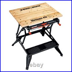 Workmate 425 30 in. Folding Portable Workbench and Vise Project Center Decker