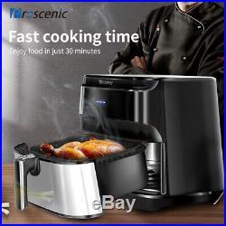 XXL Alexa Air Fryer 1700W Electric Oil less Oven APP Timer Temp Control 8 Preset