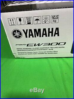 Yamaha PSR-EW300FB 76 Key Portable Keyboard with Yamaha Adjustable X Style