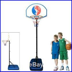 Youth Indoor/Outdoor Adjustable Height Portable Kid Basketball Hoop Goal Set